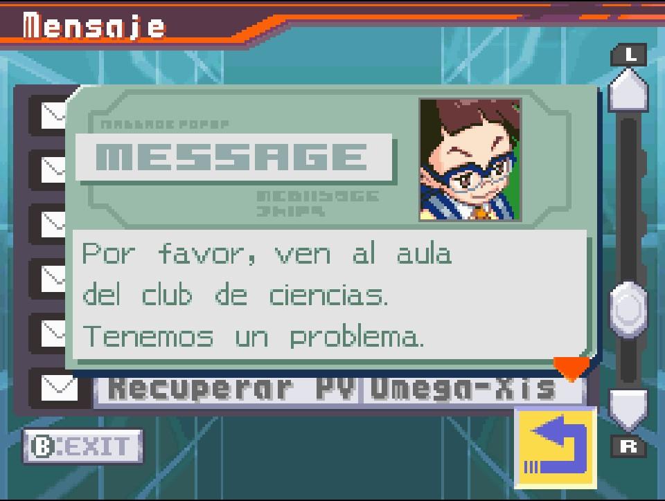 Correo electrónico de Megaman